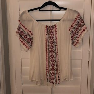 Altrd state off the shoulder top